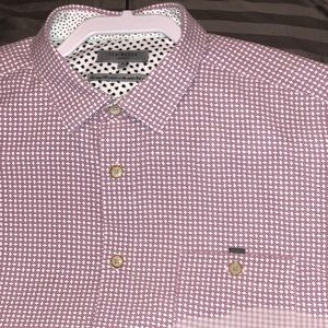 Ted Baker London SS Pocketed Button Down Size 5